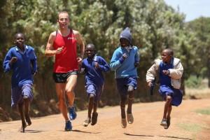 Lauftraining in Kenia mit Falk Cierpinski