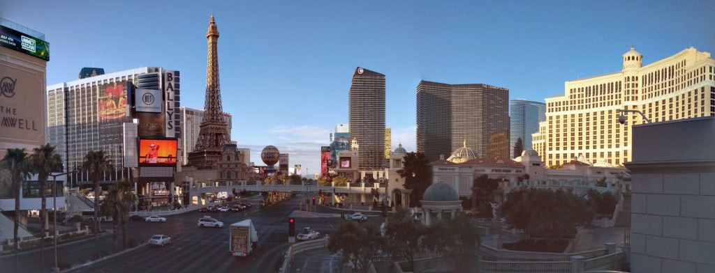Las Vegas Strip im Panorama