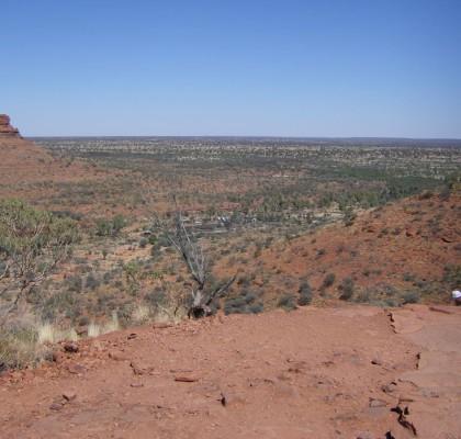 Das Outback in Australien