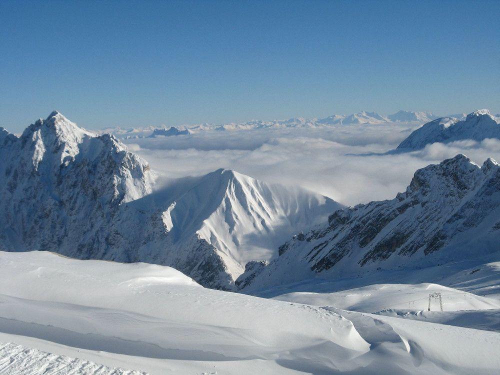 Die Berge in/um Chamonix